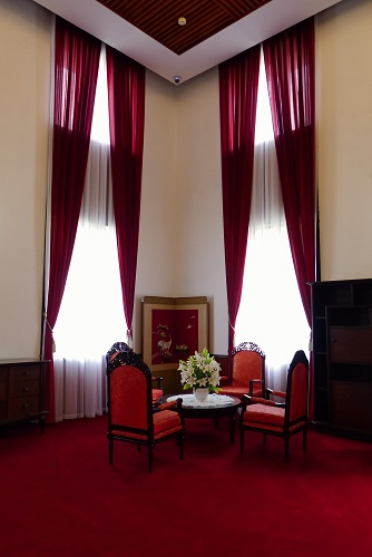 The President's Office at Reunification Palace, Ho Chi Minh City, Vietnam