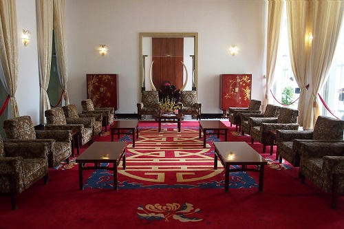 Reception Room at Reunification Palace, Ho Chi Minh City, Vietnam