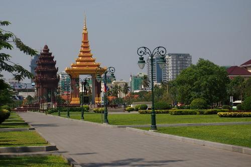 Independence Memorial Park, Phnom Penh, Cambodia