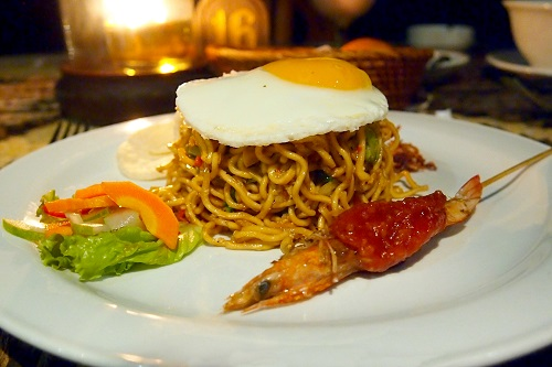 Mie Goreng noodles to eat in Bali, Indonesia