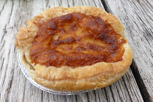 Bakewell pudding from Bloomers in the Peak District, England
