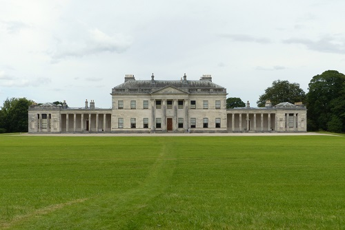 View of main house at Castle Coole near Enniskillen, Northern Ireland