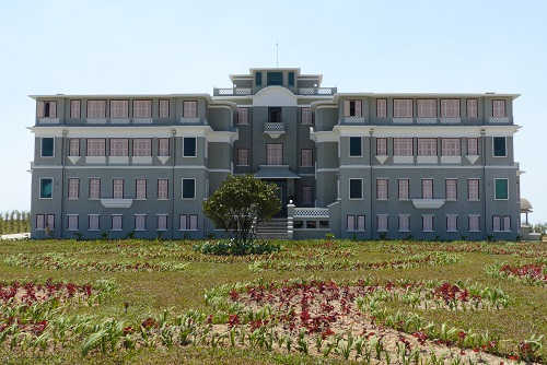 Le Bokor Palace hotel and casino at Bokor Hill Station in Cambodia