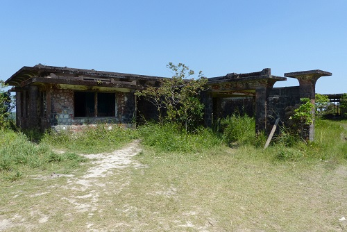 King Monivong's derelict palace at Bokor Hill Station in Cambodia