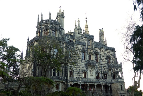 The Palace at Quinta da Regaleira in Sintra, Portugal