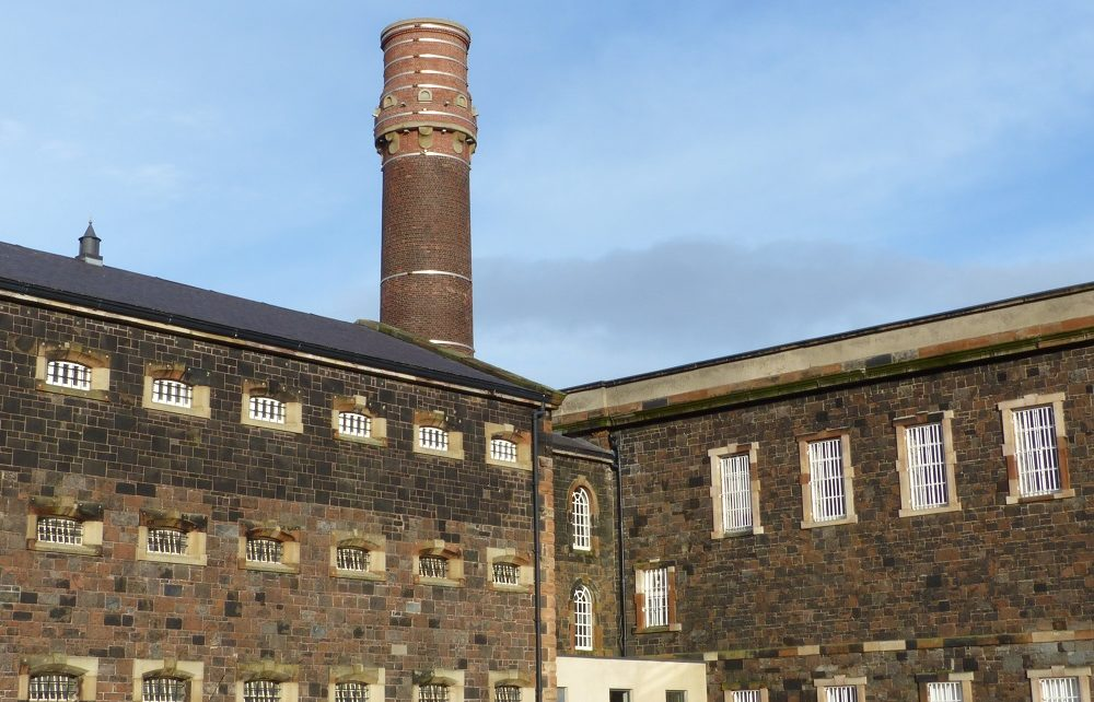 Crumlin Road Gaol in Belfast, Northern Ireland