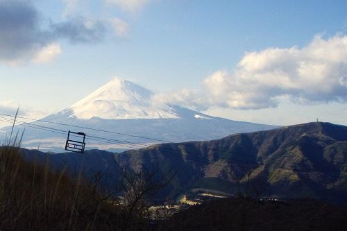 View of Mount Fuji from Hakone, Japan